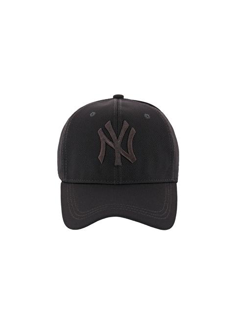 Laslusa NY Beyzbol Cap Şapka Gri
